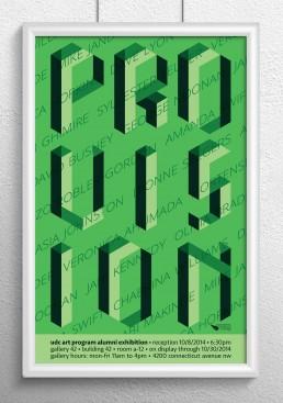 Provision Poster Design Green