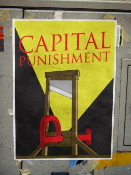 Capital Punishment Poster Design