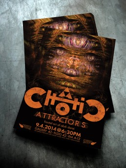 Chaotic Attractors Poster Design