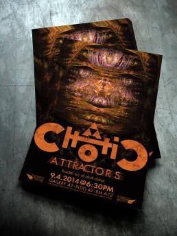 Chaotic Attractors Poster Design