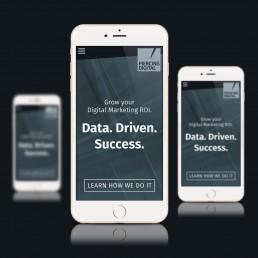 Piercing Digital - Homepage - Mobile Design