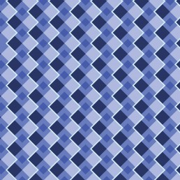 Diamonds in Blue Pattern Design