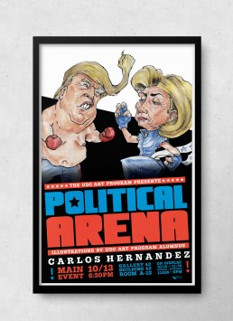 Political Arena Poster Design