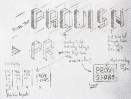 Provision Sketch
