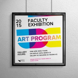 UDC Faculty Poster Design