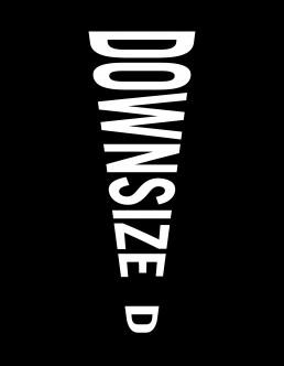 Downsized Typographic