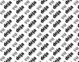 Deja Vu Typographic