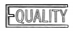 Equality Typographic