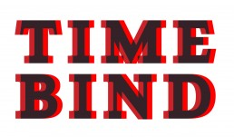 Time Bind Typographic