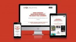 KTD Creative Work Landing Page